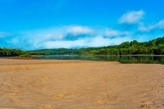 River beach Royalty Free Stock Images