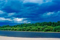 River beach Stock Photos