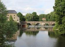 River Sarthe Royalty Free Stock Photos