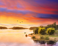 River scape Stock Image