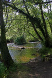 River Scene, Pont- Aven, Brittany Stock Photos