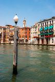 River scene Venice Italy Royalty Free Stock Photos