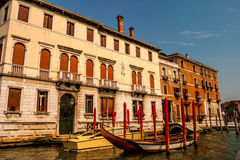 River scene Venice Italy Stock Photo