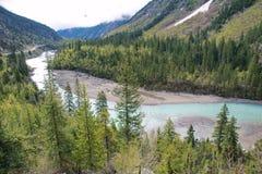 River scenery Royalty Free Stock Photos