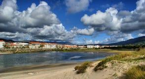 River scenery in Vila Praia de Ancora Stock Image