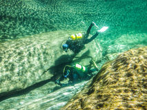 River Scuba II Royalty Free Stock Photo