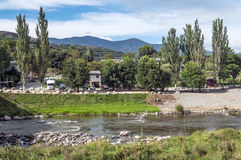 River Segre Royalty Free Stock Photography
