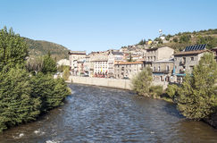 River Segre stock images