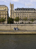 River SEINE at Royalty Free Stock Image