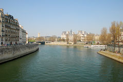 The River Seine Stock Image