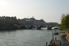 The River Seine Royalty Free Stock Photos