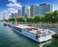 River Seine. Royalty Free Stock Photography