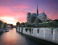 River Seine. Stock Images
