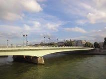 River Seine Bridge Stock Photography