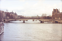 River Seine Stock Photo