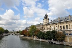 River Seine In Paris, France, Europe. Stock Images