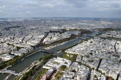 River Seine in Paris Royalty Free Stock Photos