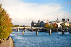 River the Seine in Paris Stock Photo