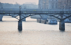 The river Seine in Paris Stock Photo