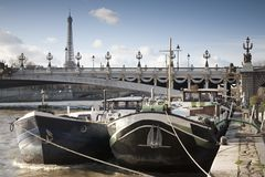 River Seine, Paris Stock Photos