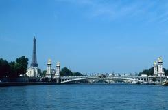 River Seine, Paris, France Royalty Free Stock Photos