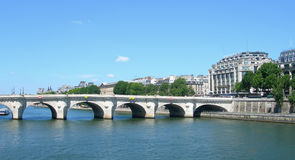 The river Seine in Paris, France Stock Photography