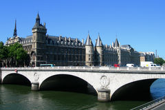 The river Seine in Paris, France Stock Image