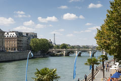 The River Seine - Paris - France Royalty Free Stock Photo