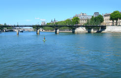 The river Seine in Paris, France Royalty Free Stock Image