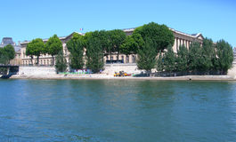 The river Seine in Paris, France Stock Images