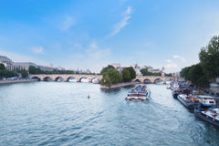 River Seine in Paris, France Royalty Free Stock Photo