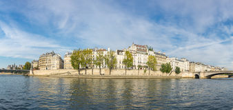 The river Seine in Paris Stock Photos