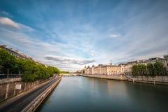 The river Seine in Paris Stock Photos
