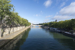 River Seine, Paris Royalty Free Stock Photography