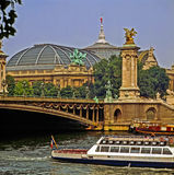 River Seine, Paris Stock Photo