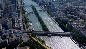 River Seine Stock Photography