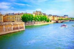 River Seine Royalty Free Stock Photos