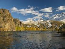 River Selenge Mongolia Royalty Free Stock Photos