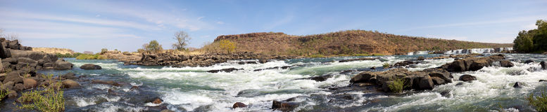 River Senegal near Kayes in Mali Stock Photo