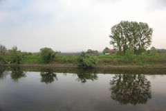 The river  in Serbia Stock Images