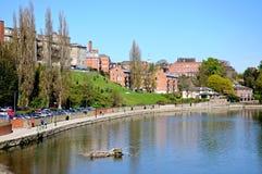River Severn, Shrewsbury. Royalty Free Stock Photos