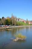 River Severn view, Shrewsbury. Royalty Free Stock Photography