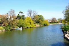 River Severn View, Shrewsbury. Royalty Free Stock Image