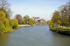 River Severn View, Shrewsbury. Stock Photos