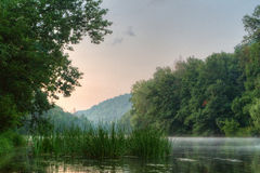 River Seversky Donets Royalty Free Stock Photography