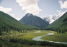 The river Shavla Royalty Free Stock Images