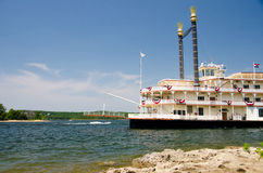 River Showboat in Branson Stock Photos