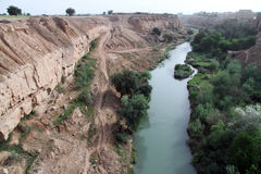 River in Shushtar Royalty Free Stock Photos