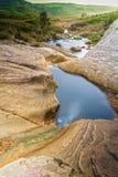 River in Sicily Stock Image