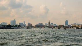 River side at Bangkok Thailand stock images